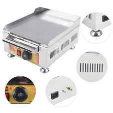 2500w Commercial Electric Countertop Griddle Flat Top Restaurant Bbq Grill Cook