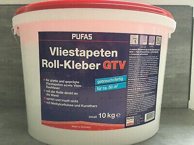 Business & Industrie € 2,19kg 10 Kg Pufas Rollkleister Gtv Für Vliestapeten Fertigkleister F.50 Qm