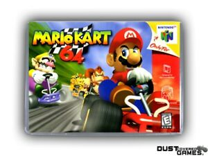 Mario Kart 64 N64 Nintendo 64 Game Case Box Cover Brand New