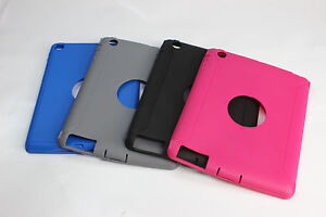 quality design e248d 0aa22 Details about iPad 2/3/4 OtterBox Defender Case Replacement Outer Rubber  Silicone Skin Slip