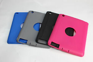 quality design d8ce2 5ce09 Details about iPad 2/3/4 OtterBox Defender Case Replacement Outer Rubber  Silicone Skin Slip