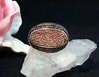 Edelsteinring Ring  Silber 925 mit Zirkonia, ... Gr 60 (19,1 mm Ø)