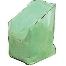 Telo copertura per poltrone e sedie arredo giardino da esterno poliestere verde