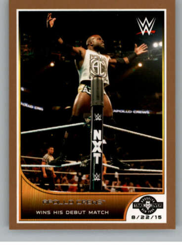 2016 Topps WWE Road to Wrestlemania Bronze Parallel Pick From List