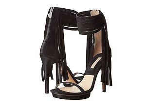 Michael Kors Heels Shoes Womens - Michael Kors Daphne Black Suede