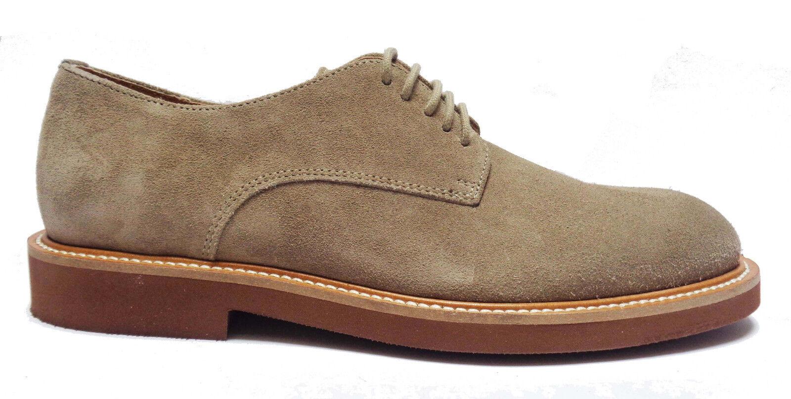 FRAU 35A1 shoes CASUAL DA men CON LACCI IN CAMOSCIO COL. SUGHERO FONDO IN PARA