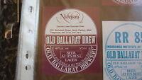 OLD AUSTRALIAN BEER LABEL, OLD BALLARAT BREWERY, NICHOLSONS CARLTON