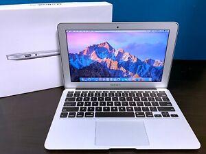 APPLE MACBOOK AIR 11 INCH LAPTOP   TURBO BOOST   3 YEAR WARRANTY   128GB SSD
