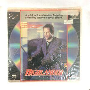 Highlander-1989-R-Laser-Disc-Extended-Play-NTSC-Sean-Connery-Christopher-Lambert