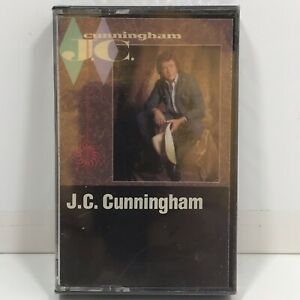 Vintage-1984-JC-Cunningham-Audio-Cassette-Tape-Sealed-Country