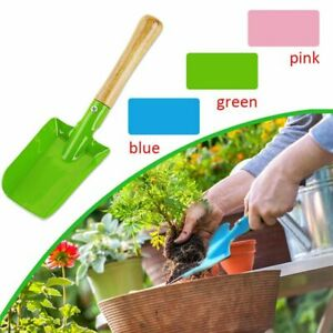Herramienta-De-Jardin-Pala-Mango-De-Madera-De-Hierro-Hogar-Multifuncional-Mini-Spade-durable