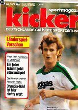 Magazin Kicker 16/1977,Bundesliga,
