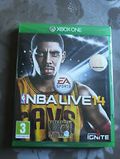 NBA LIVE 14  XBOX ONE MANUALE IN ITALIANO GIOCO IN INGLESE XBOX ONE NUOVO 2014