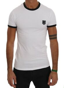 NEW-180-KENZO-T-shirt-Beachwear-White-Cotton-Stretch-Mens-Crewneck-Top-s-S