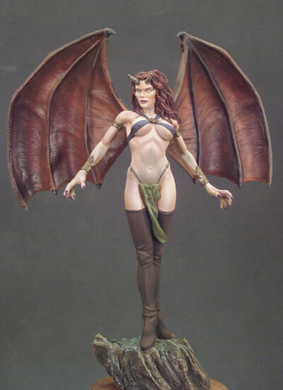 G035, HARPY, Andrea Miniatures,1 22 scale, 80mm Metal Miniature, Brand NEW