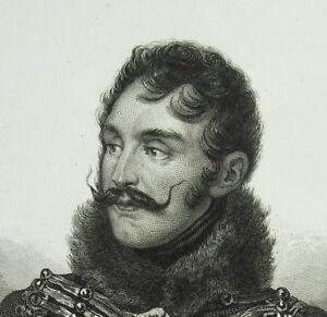 Charles Lasalle Général De L'empire C1840 Amédée Maulet Napoléon Bonaparte Print Utilisation Durable