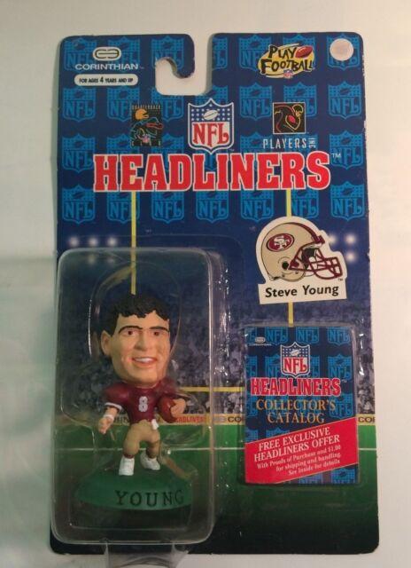 San Francisco 49ers NFL Football STEVE YOUNG Headliners Figure by Corinthian