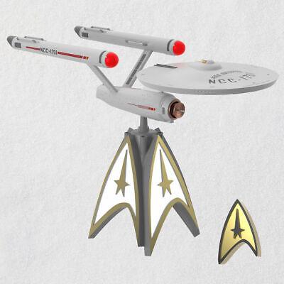 Star Trek Enterprise Hallmark Tree Topper 2020 ornament ...