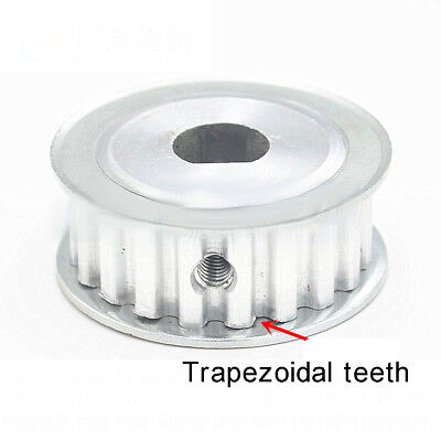 20-30 Teeth MXL Timing Pulley D-type Bore Belt width 6 or 10mm Select Size
