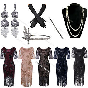 50s-Style-Dress-Vintage-Retro-1920s-Dress-Flapper-Costumes-Gatsby-Evening-Gowns