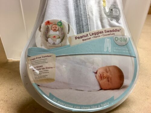Bright Starts Comfort and Harmony Peanut Leggies Swaddle