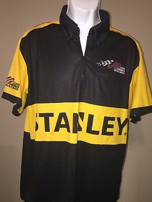 Carl Edwards Stanley Tools Used Race Day Crew Shirt Size XL JGR