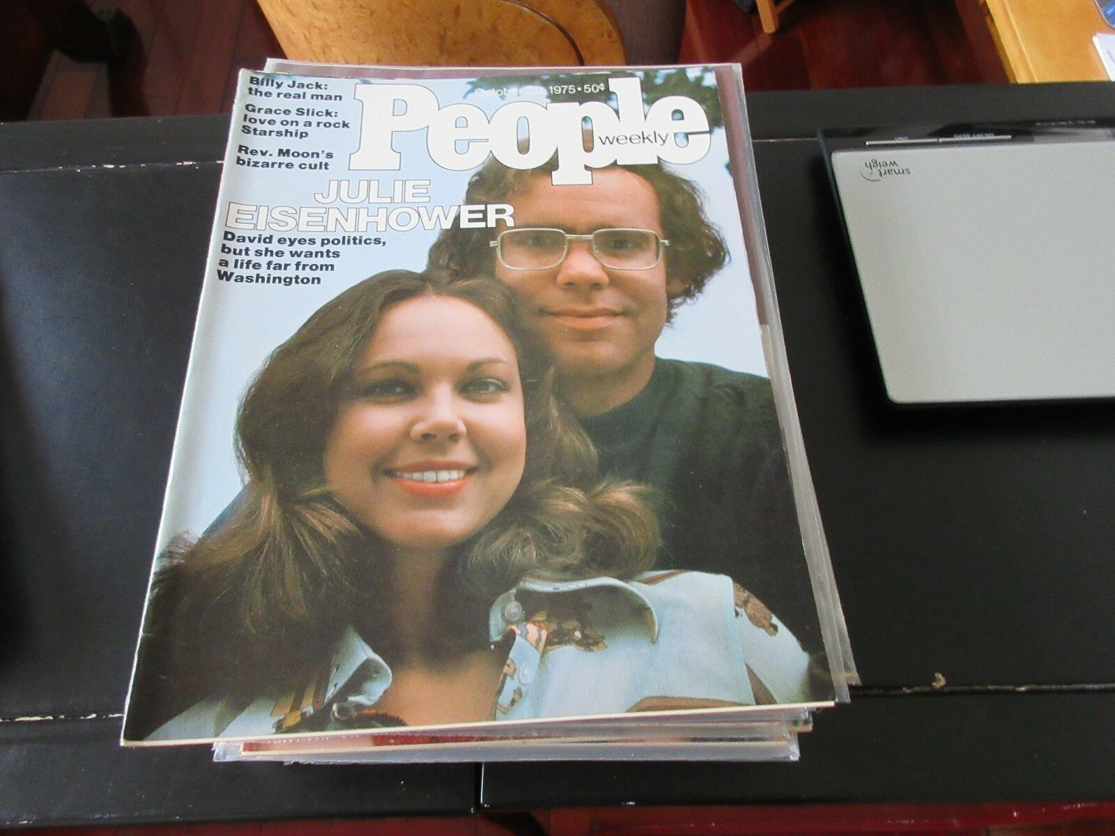 People Weekly , October 20 ,1975 , Julie Eisenhower , G