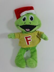 Cadbury-Freddo-Chocolate-Bar-Freddo-Frog-Plush-Christmas-Hat-Excellent-Condition