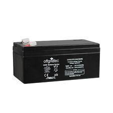 Offgridtec® AGM 3,2Ah 20HR 12V - Solar Batterie Akku Extrem zyklenfest