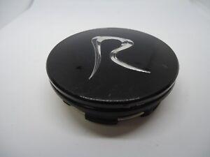 Raceline / Regency / R Wheels Gloss Black Custom Wheel Center Cap Caps # C10180R