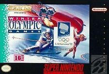 Winter Olympic Games: Lillehammer '94 (Super Nintendo Entertainment System, 199…