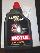 MOTUL  Motyl Gear Sae 75W90 Sintetico Per Cambi E Differenziali Api Gl4/5 lt.1