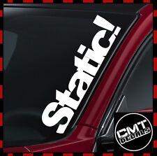 Static! Car / Van Windscreen Decal Sticker euro lowered JDM -17 Colours 550mm