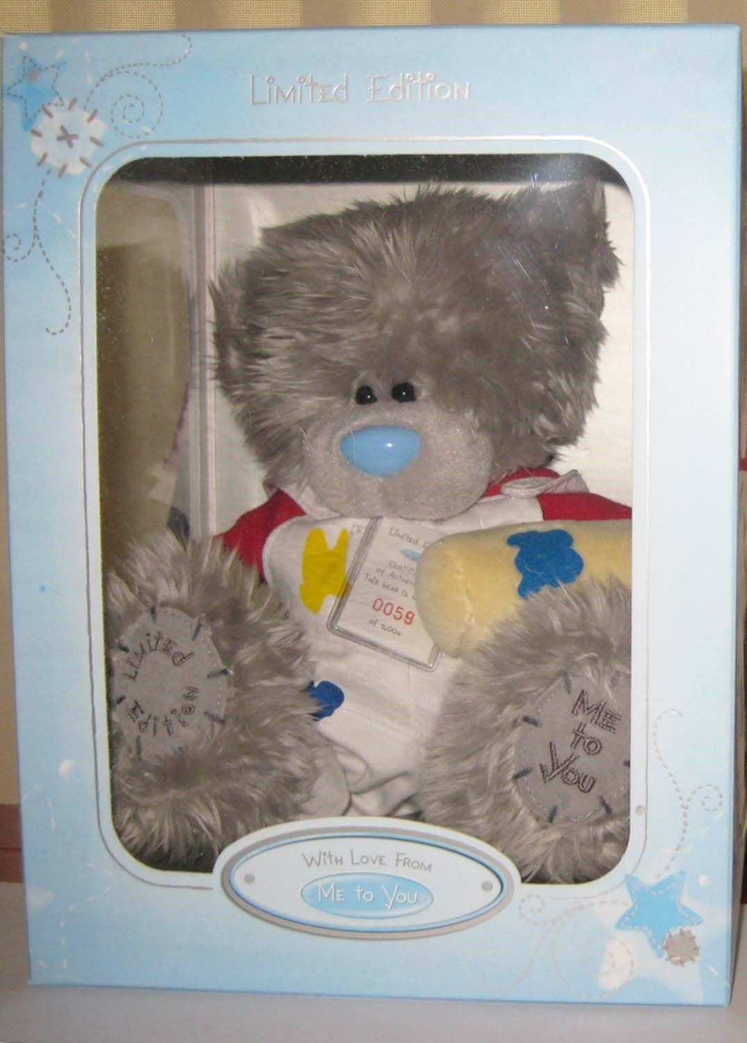 ME TO YOU TATTY TEDDY LIMITED EDITION PAINTER & DECORATOR NO 0059 **BRAND NEW**