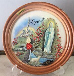 N8-Assiette-De-Collection-Et-De-Decoration-Voir-Photos-24-Cm-Lourdes