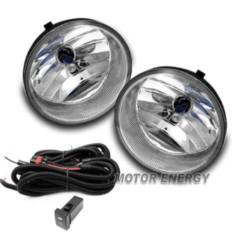 07-13 TUNDRA//08-15 SEQUOIA PICKUP HALO LED CHROME PROJECTOR HEAD LIGHTS+FOG LAMP