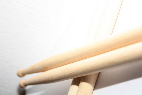 Drumstick Drumsticks für Kinder 2 Paar Junior Schlagzeug Stöcke Trommel Sticks