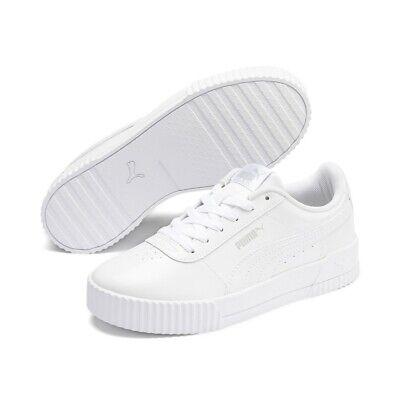 Puma CARINA P Damen Streetstyle Sneaker Clubwear 370912 Weiß