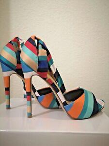 Chaussure Femme Sandale Talon à Nouer
