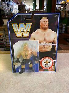 WWE Wrestling Action Figure NIP - Mattel Retro Style - BROCK LESNAR
