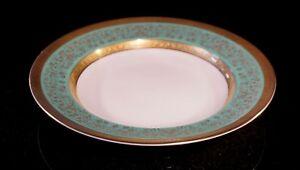 Stunning-Antique-Rosenthal-Selb-Plossberg-Gold-Encrusted-Aida-Rimmed-Soup-Bowl