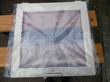 MPK 420/430 Flyscreen ( No Roller Blind ) in White . Actual size 403mm square