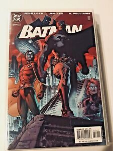 1X-BATMAN-619-JIM-LEE-HUSH-UNREAD-RARE-RED-HERO-GATEFOLD-HI-GRADE-DC-2003