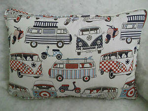 CAMPERVAN-COTTON-FABRIC-OBLONG-CUSHION-20-034-X-14-034-51-CM-X-36-CM-ZIP-OFF-COVER