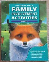 Harcourt Math Family Involvement Activities English Grade 5 2004