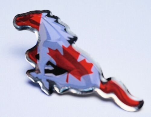 2014 MUSTANG UNITES CANADA  PIN FROM THE SEMA INTERNATIONAL PIN SET