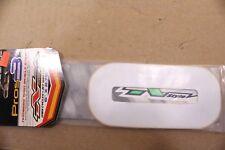 "N-STYLE  PROS MX ATV BMX KART RACING NUMBERS 8/""x4.75/"" No.3 White 3 PACK"