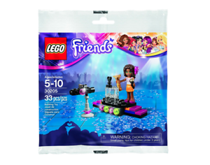 LOT of 15 Lego 30205 Friends POP Star ANDREA - BRAND NEW Party Favors   15 TOTAL