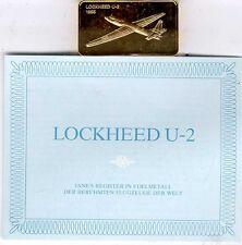 Janes Register in Edelmetall:Lockheed U-2