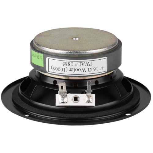 """NEW 4/"""" Extended Range Woofer Speaker.16ohm.Midrange.4.75/"""" frame.Line Array.40w"""